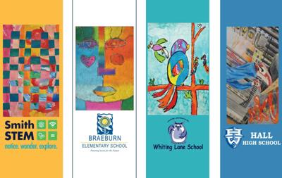 West Hartford to display student-created banners on South Main