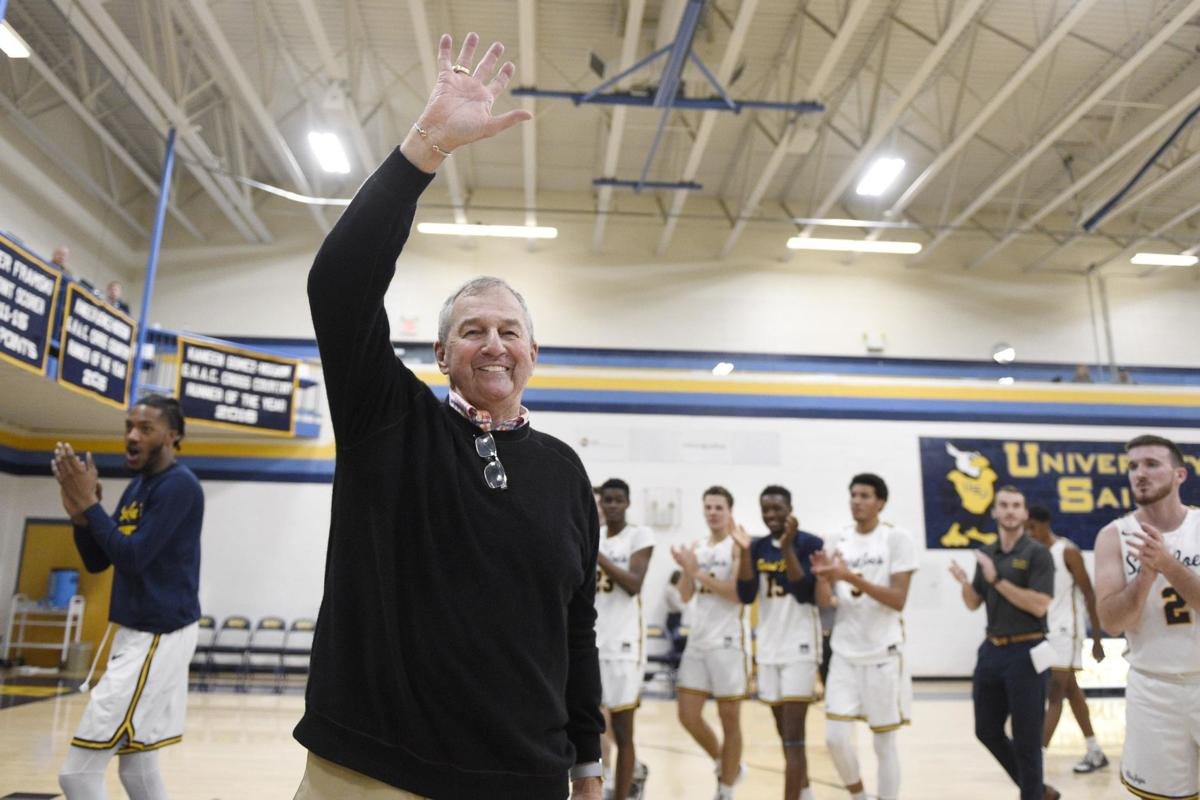 Jeff Jacobs: For Calhoun, ball is life and life's a ball as he prepares to tie Bobby Knight