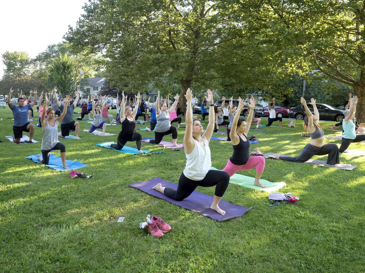 West Hartford Yoga in the Parks back for 3rd year of free classes