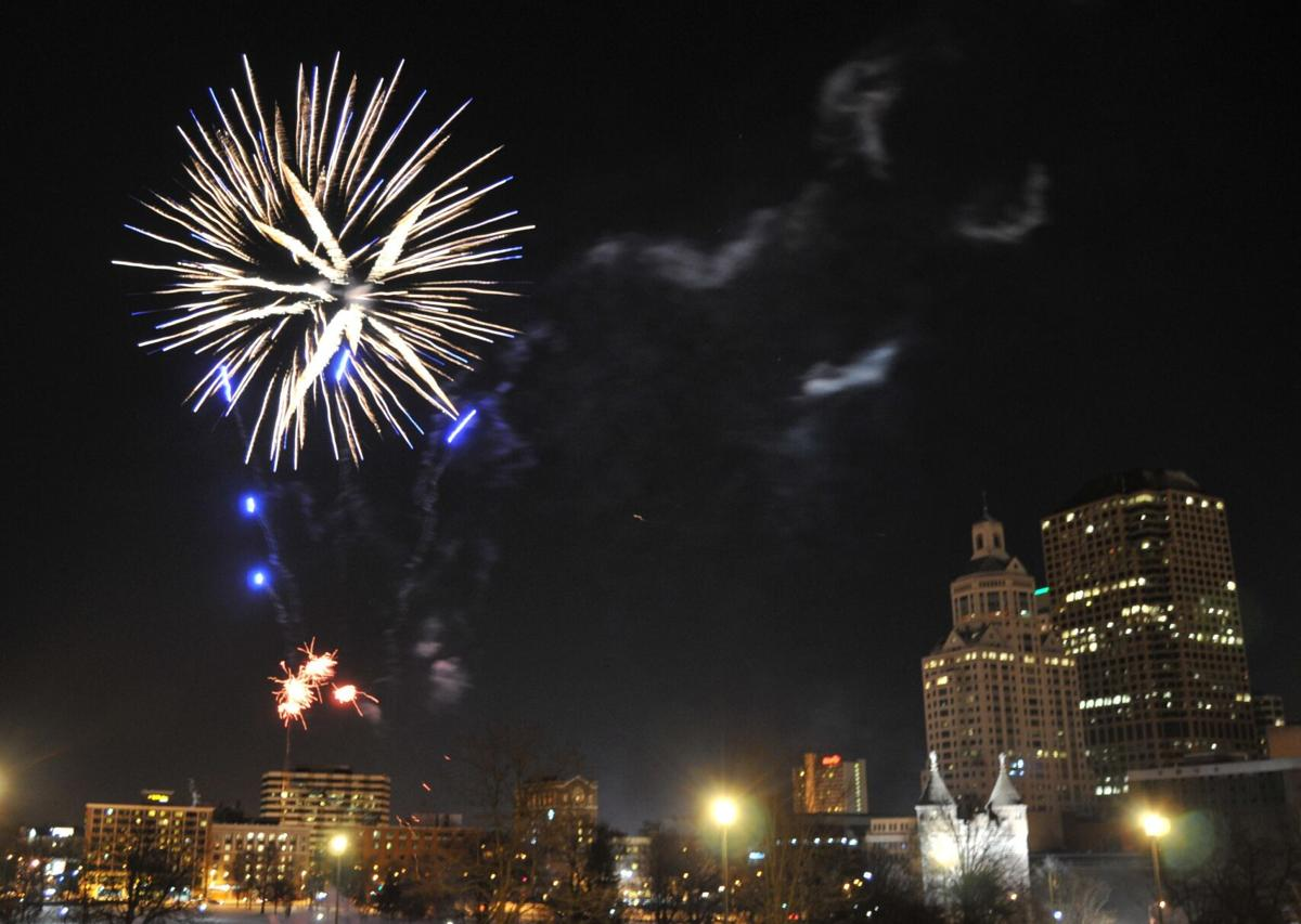 Caution mixes with hope at restrained events on New Year's Eve in CT