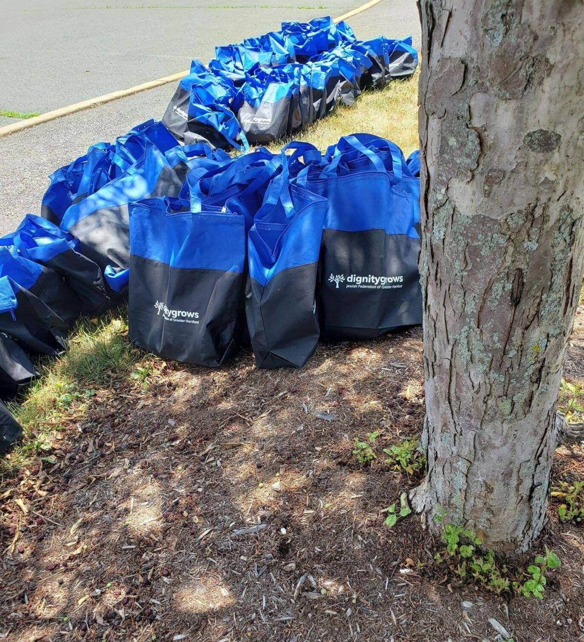 Men, women receive Dignity Packs funded by Jewish Federation of Greater Hartford
