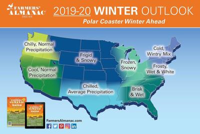Farmers' Almanac: CT winter to be colder than usual