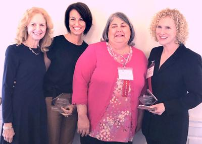 CCFS recognizes Jewish Family Services staff members in West Hartford