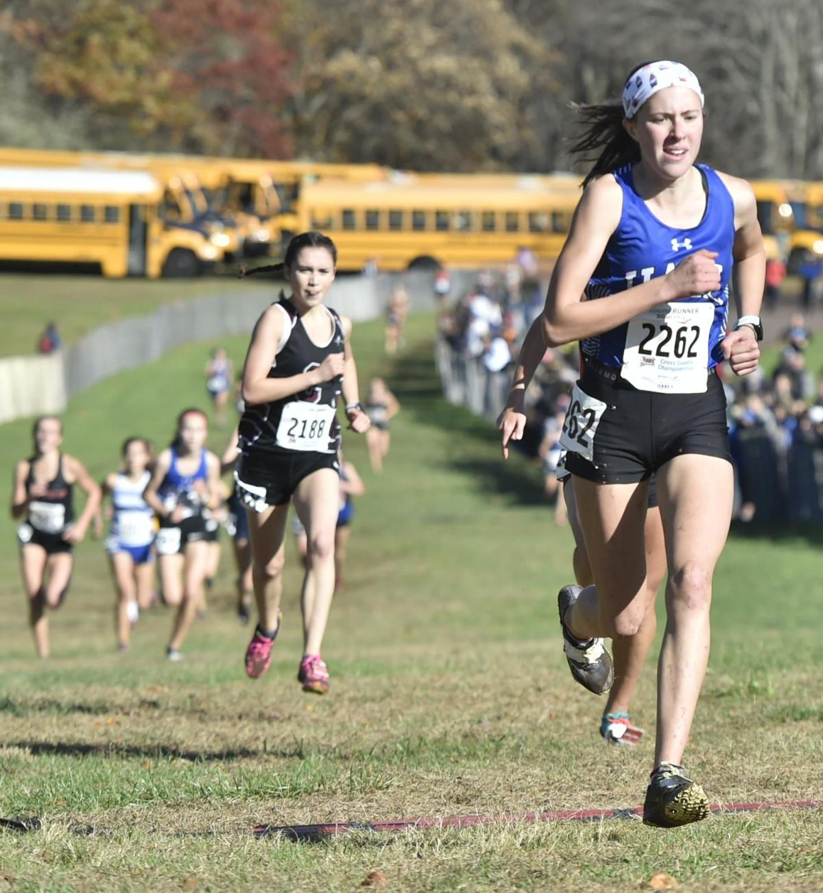 Hall girls cross country wins State Open title