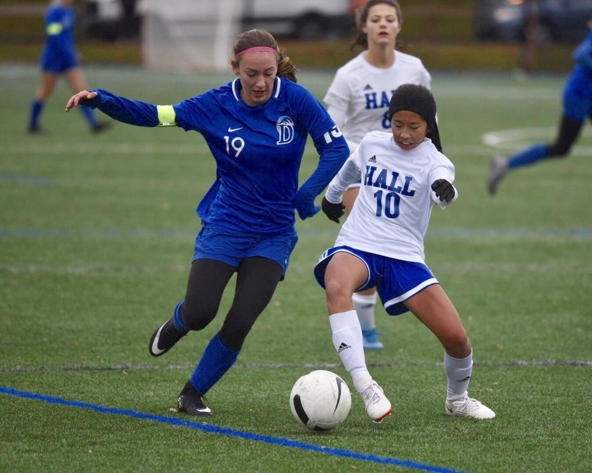 Popson's OT goal gives Darien win over Hall in Class LL girls soccer