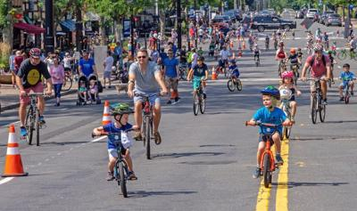 West Hartford's block party on wheels is fun for all ages