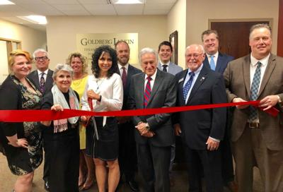Mayor Cantor officiates at grand opening of Goldberg Larkin in West Hartford