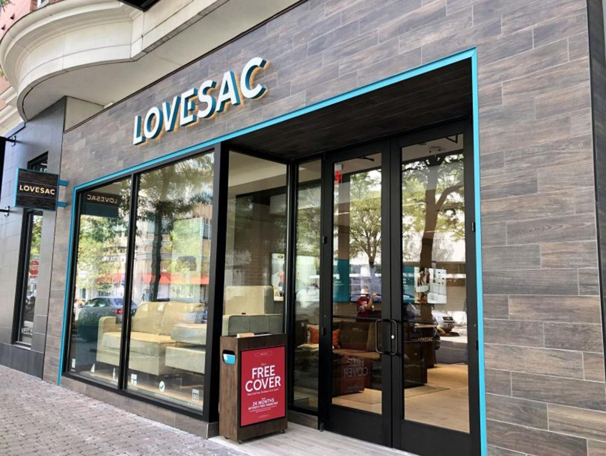 Lovesac opens at Blue Back Square in West Hartford