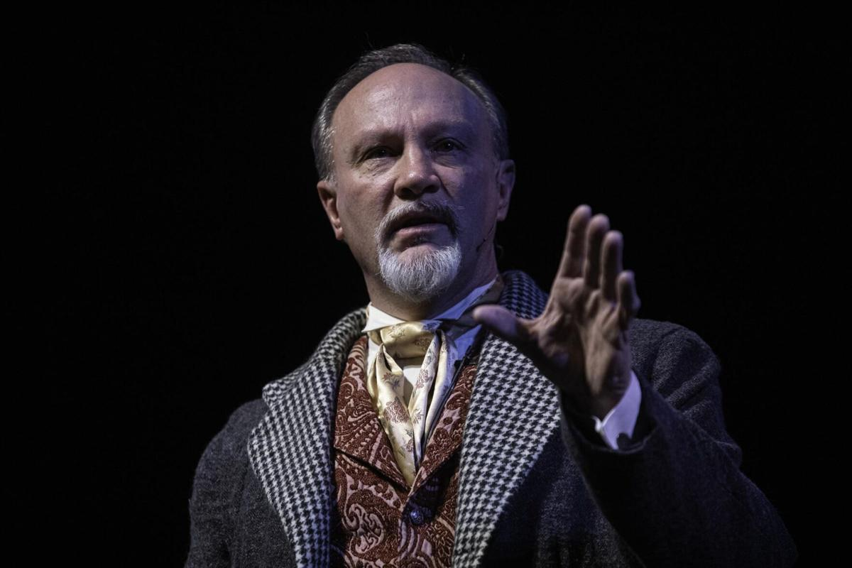 Meet the CT man who plays 30-plus roles in 'A Christmas Carol'