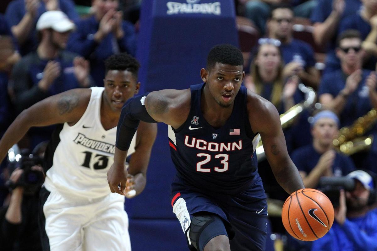 "A slimmed-down Eric Cobb ready to make amends for last season's ""growing pains"" at UConn"
