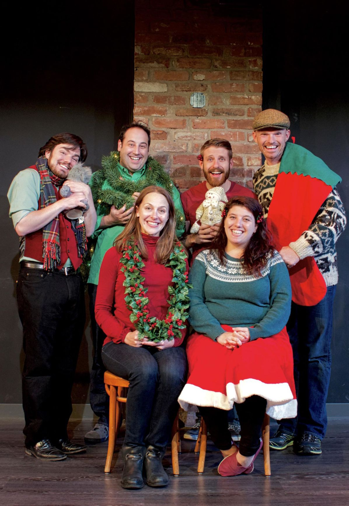 Sea Tea Comedy Theater, Hot Cocco Productions to stage 'A(n Improvised) Christmas Carol' in Hartford