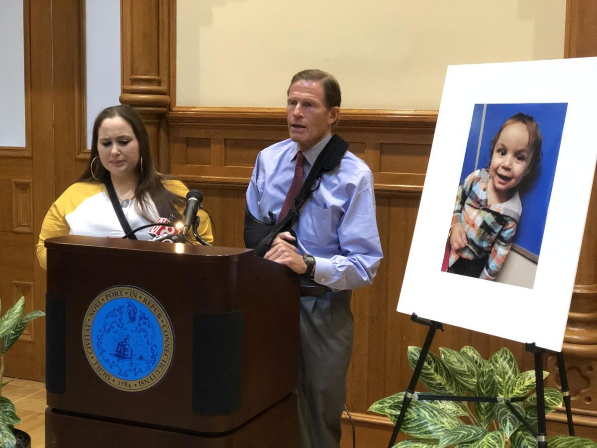 Grieving CT mother, Blumenthal, advocate for stronger furniture safety standards