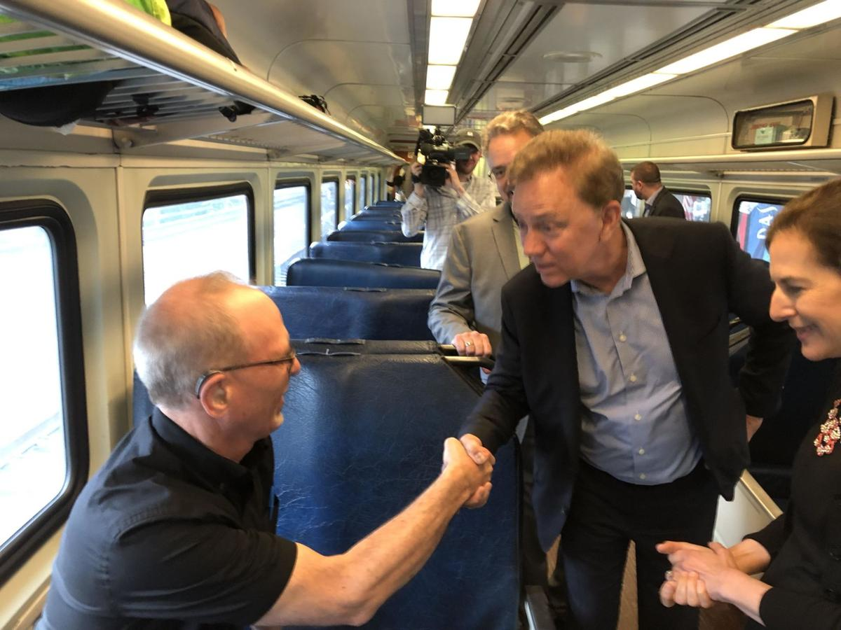 Hartford Line ridership speeds past expectations in first year