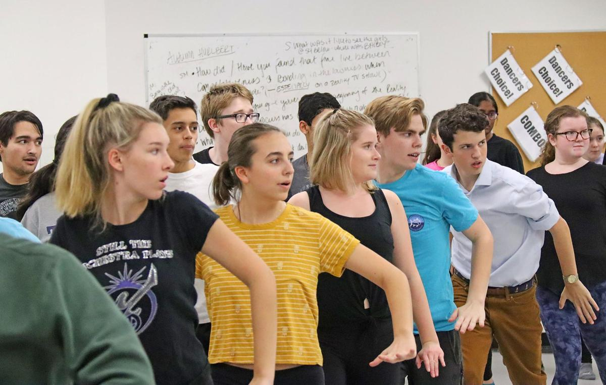 Kingswood Oxford students attend acting workshop, leading up to musical 'Thoroughly Modern Millie'