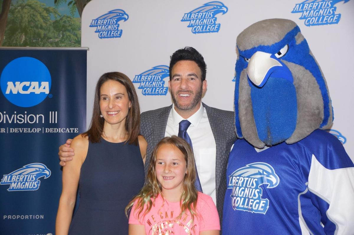 West Hartford's Kyle Wallack introduced as Albertus Magnus hockey coach
