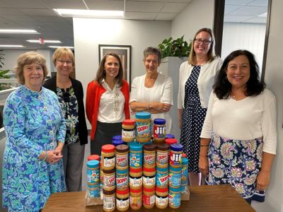 Community news: Local firm donates to West Hartford Food Pantry