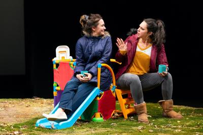 Review: 'Cry It Out' explores the pangs and joys of motherhood, at Hartford Stage