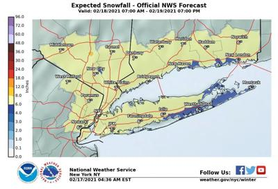 NWS: Storm to drop 6 inches of snow on CT