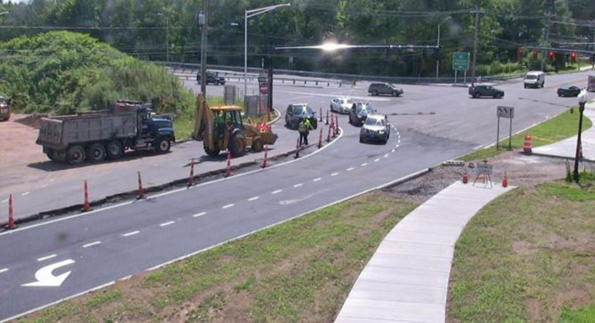 In West Hartford, construction at Park Road, Trout Brook continues