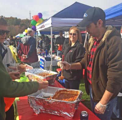 Competition at Spooktacular Chili Challenge in Simsbury heats up