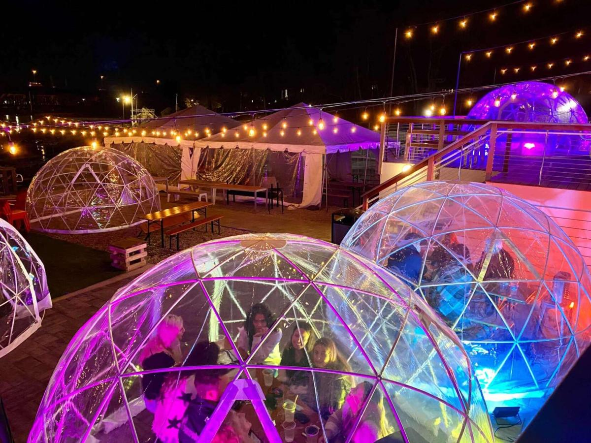 A guide to dining 'igloos' and 'greenhouses' in Connecticut