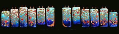 New Torah covers carry special meaning to Emanuel Synagogue congregation
