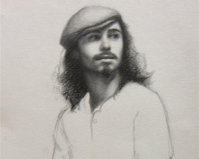 Art League offers graphite portrait drawing from life