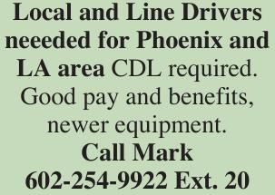 Local and Line Drivers