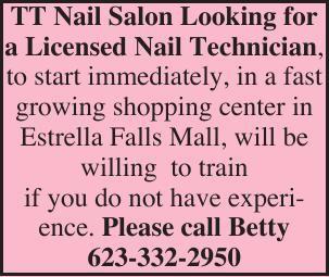 TT Nail Salon Looking for