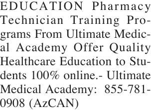 EDUCATION Pharmacy