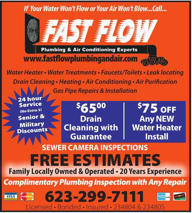 Fast Flow Plumbing and Air