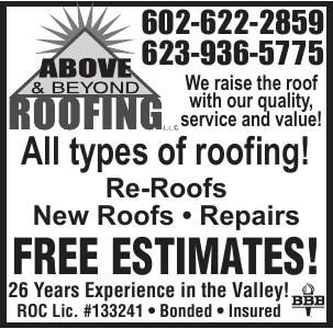 Above & Beyond Roofs Repairs