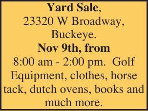 Yard Sale,