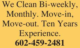 We Clean Bi-weekly,