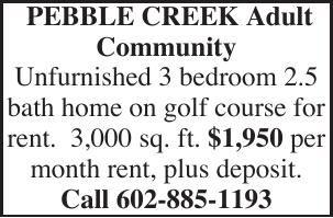 PEBBLE CREEK Adult