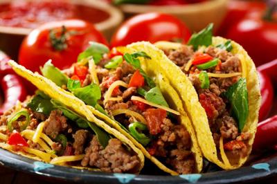 plate of tacos redempcion
