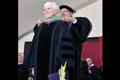 Goodyear mayor receives honorary degree Georgia Lord Franklin Pierce University