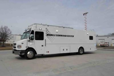 Buckeye mobile command vehicle.