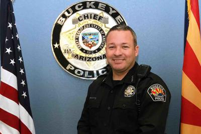 Buckeye Police Department Chief Larry Hall