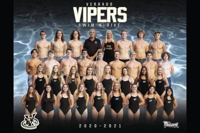 The Verrado swim team