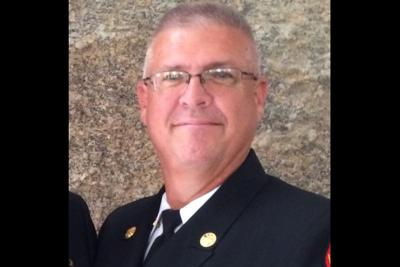 grieves over loss of retired deputy chief Rio Verde Fire District Eric Merrill