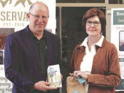 Karen Krause with Bob Bement