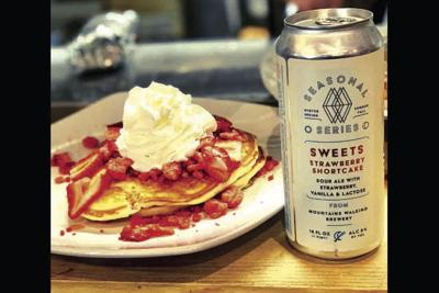 Mountains Walking Brewery's Sweets Strawberry Shortcake