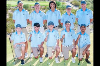The Estrella Foothills High boys' golf team