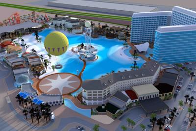 West Valley, Crystal Lagoons Island Resort plans