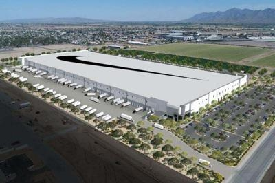 Nike manufacturing facility in Goodyear