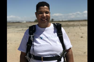 Senior residency fulfills Army veteran's wish to skydive Charlotte Gallaway