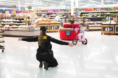 Shop with a Cop program