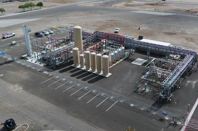 Wastewater plant opens natural gas facility Ameresco