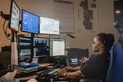 Christy Herron Buckeye police make history in Arizona dispatcher
